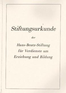 Stiftungsurkunde-1